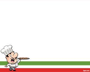 The Italian Chef Ppt Powerpoint Template Is An Example Of Country