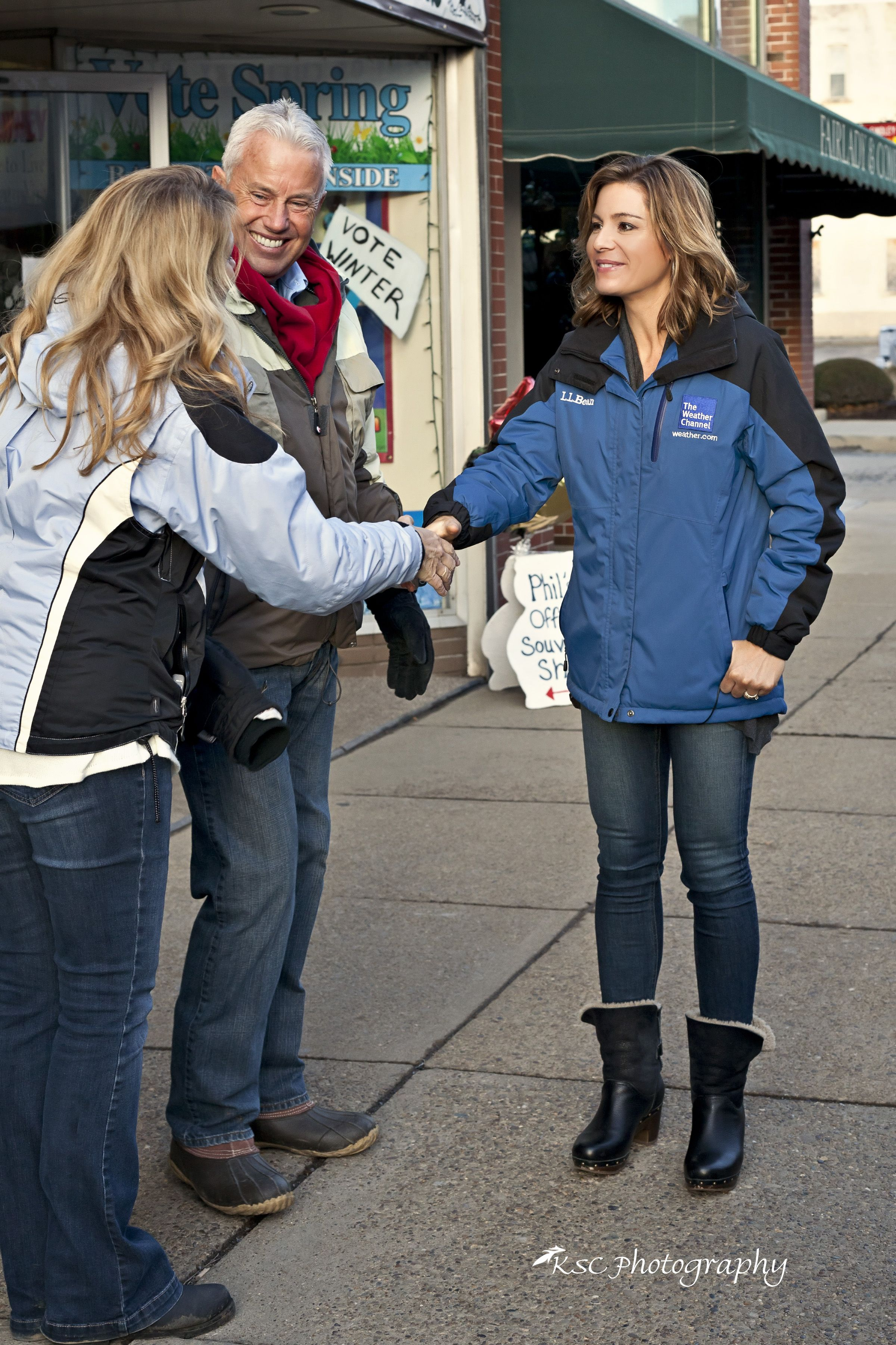 Ms Jen Carfagno Of The Weather Channel And Her Many