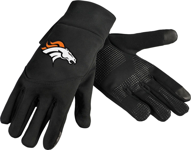 Forever Collectibles Denver Texting Gloves, Team Nfl