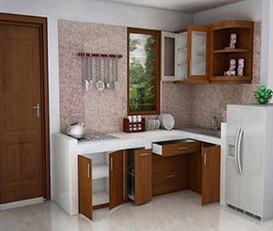 Dapur contoh dapur kecil minimalis good ideas for Kitchen set pinterest