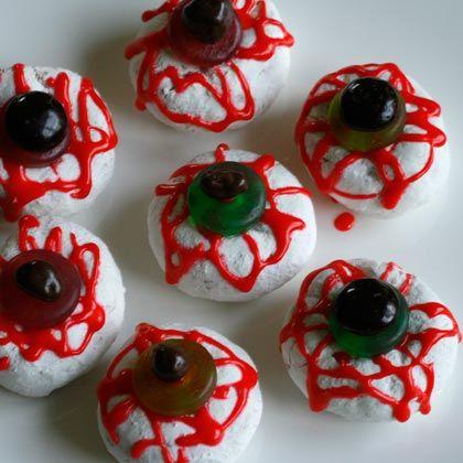 Edible Eyeballs Recipe - Image Collection Fall / Halloween