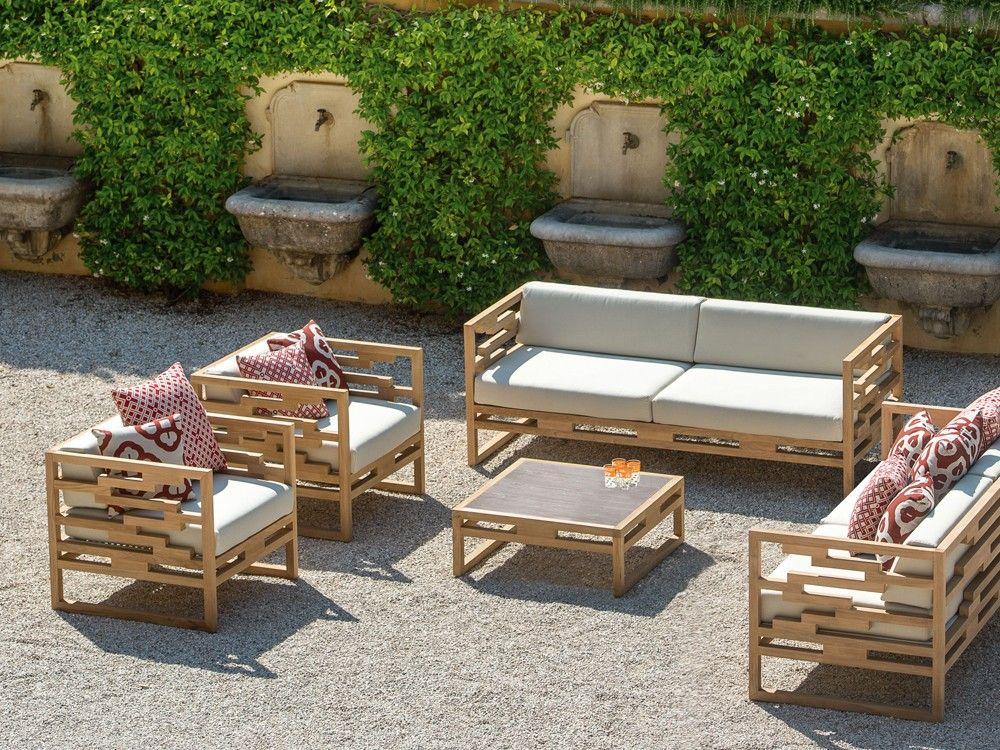 Emu Kontiki Outdoor Lounge Chair By Chiaramonte Marin