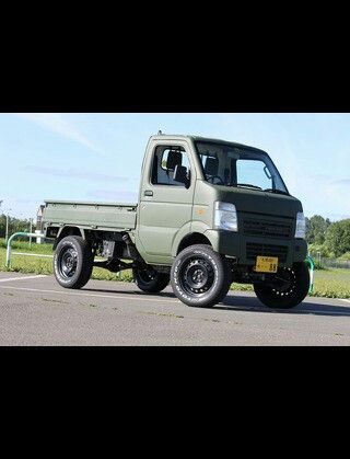 kei class mini truck rigged out for hunting site dealer offers ese mini truck