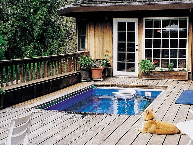 Deck fastlane pool by endless pools via flickr i know for Deck gets too hot