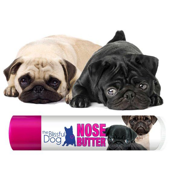 Pug Original Nose Butter For Dry Crusty Dog Noses 3 Pack Of 15