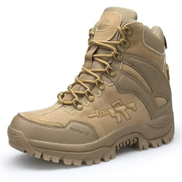 Combat Boots / Alternative Fashion Aesthetic Shoes / Men Tactical Military Safety Shoes