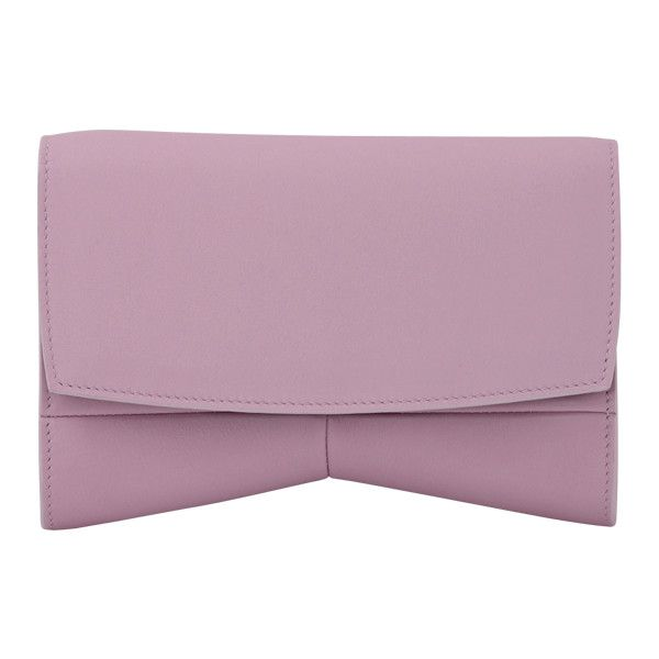 Narciso Rodriguez Rachel Evening Clutch (2.755 BRL) ❤ liked on Polyvore featuring bags, handbags, clutches, circle purse, narciso rodriguez handbags, special occasion clutches, cocktail purse and purple handbags