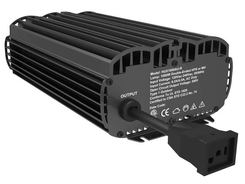 347v 400v 1000w De Hps Grow Lighting Electronic Ballast With Fan Grow Light Fixture Ballast Grow Lights