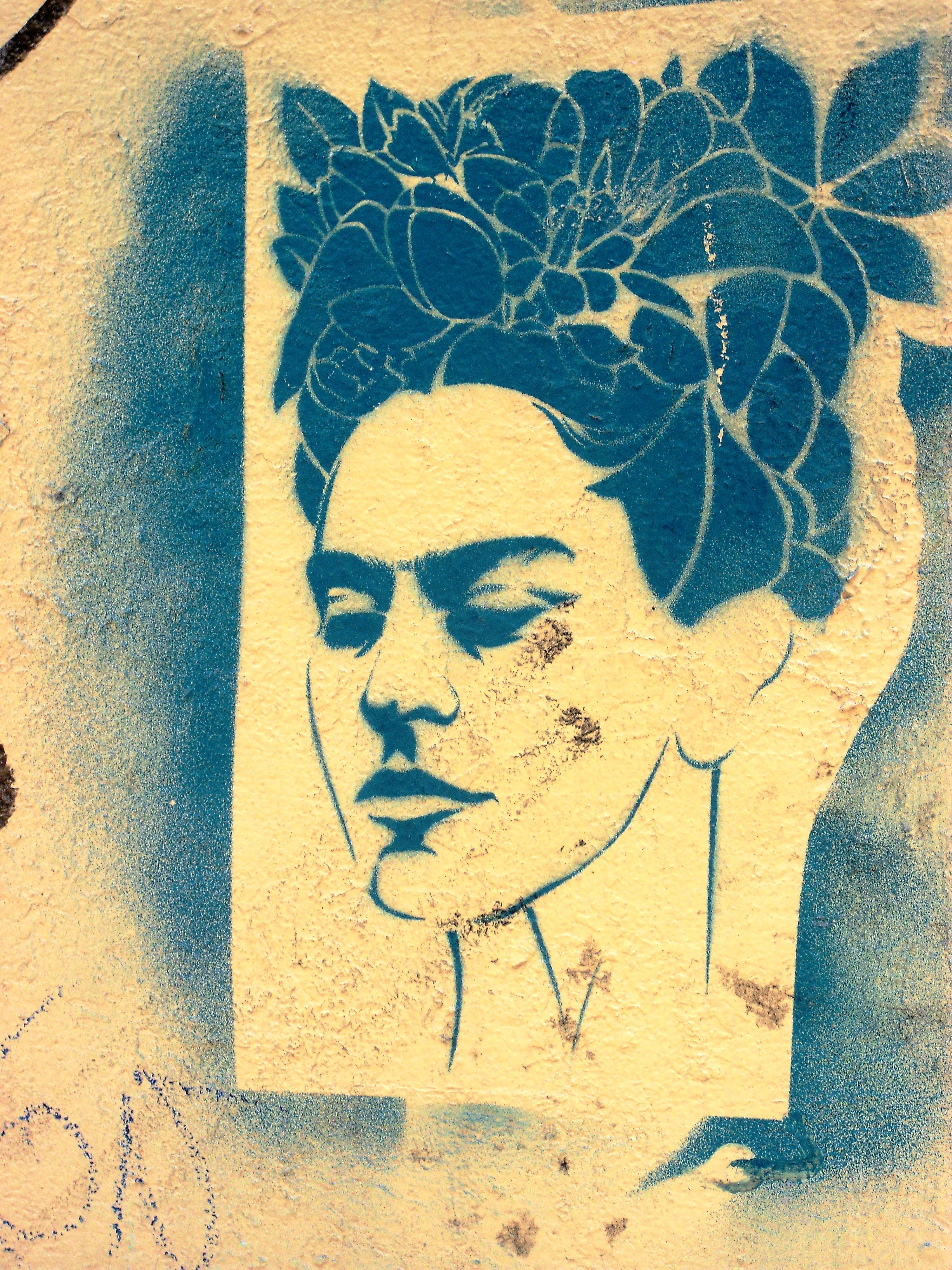 Frida. Stencil wall art. Mexico City. | Tattoo ideas | Pinterest ...