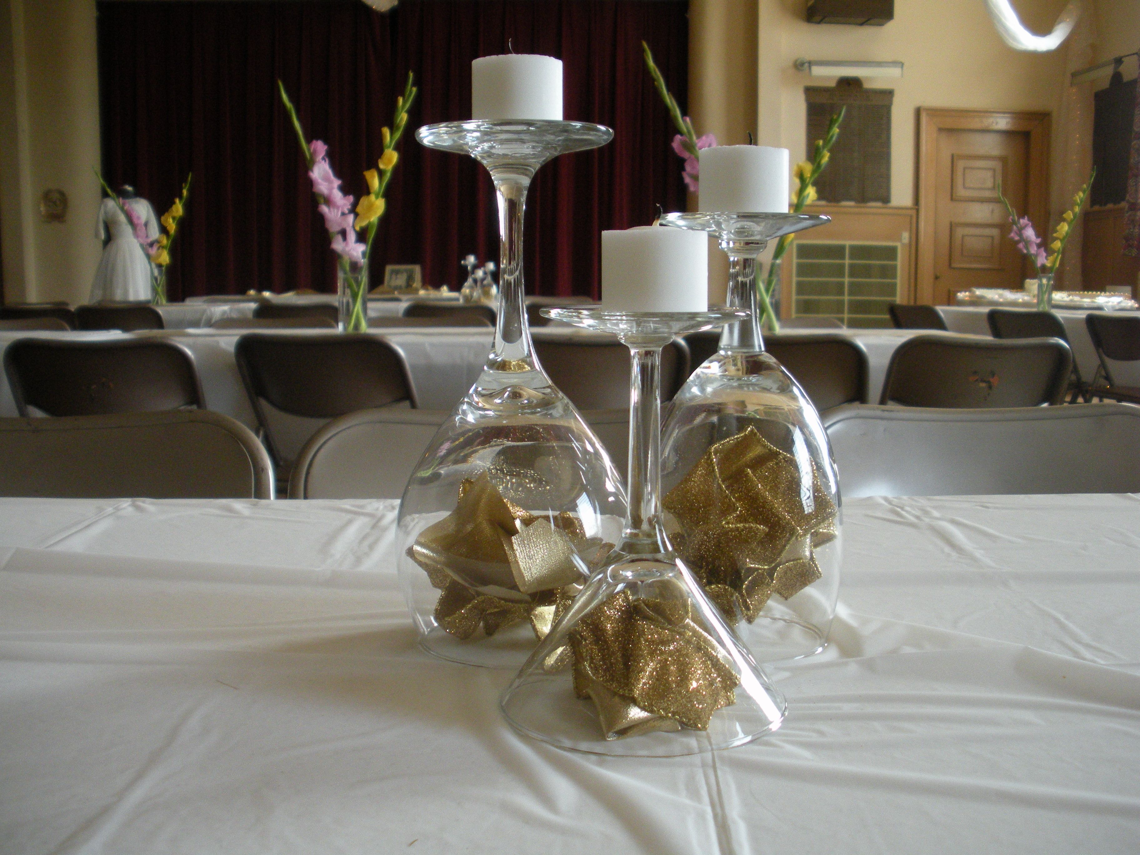 handmade 50th anniversary table decorations photograph wed. Black Bedroom Furniture Sets. Home Design Ideas