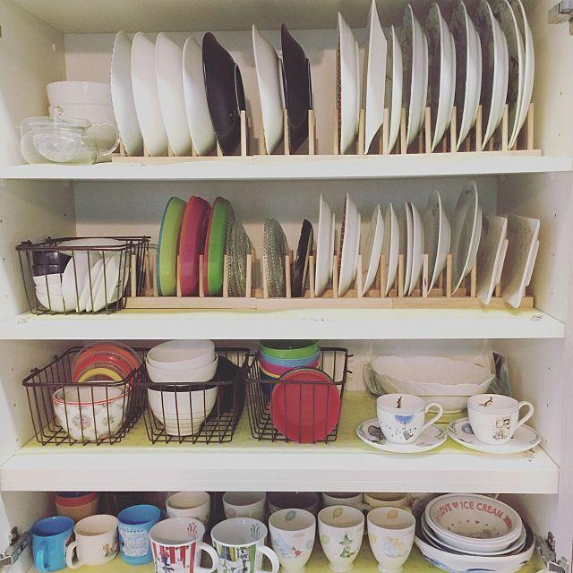 食器収納術総集編 無印や100均を使った整頓のコツ30選 お皿 収納