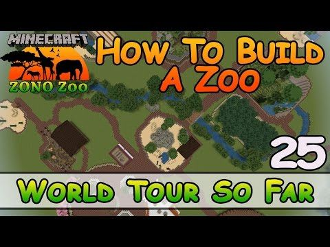 Zoo In Minecraft 3 Enclosures How To Build E26 Z One N