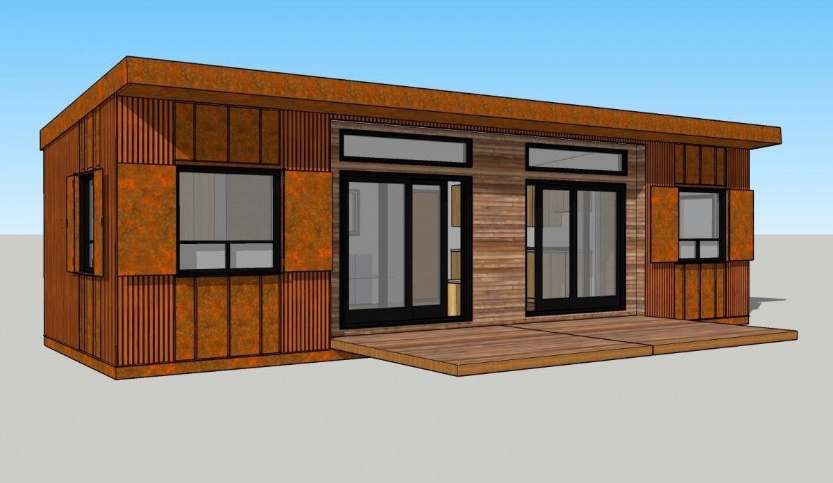 """Chilcotin Modular Cabin """"Zombie Cabin"""" Modular cabins"""