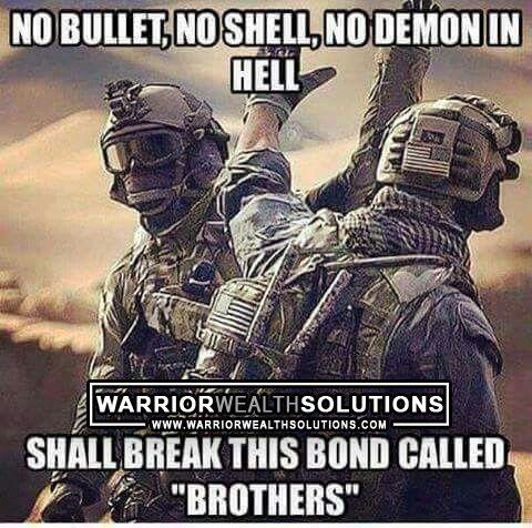 No Bullet no Shell No Demon In Hell Shall Break This Bond