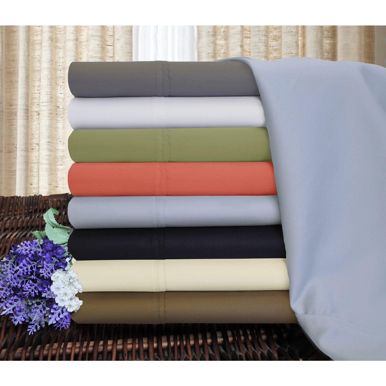 Superior 1200 Thread Count Deep Pocket Cotton Blend Split