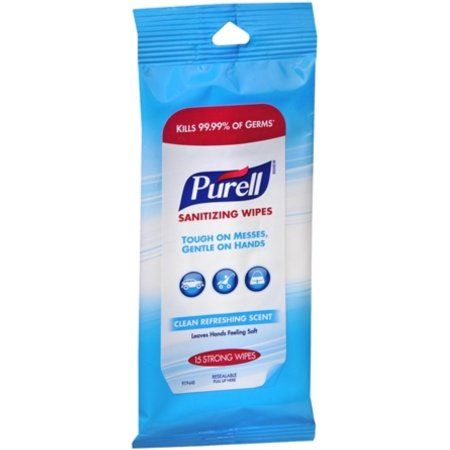 Personal Care Purell Wipes Hand Sanitizer Cleaning