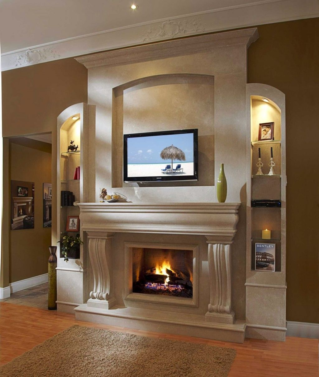 34 Awesome Traditional Fireplace Ideas Perfect For Wintertime