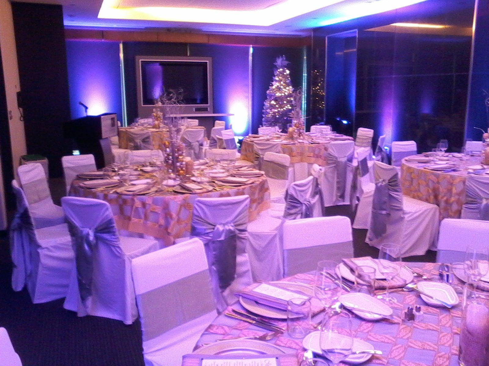 corporate christmas party at hotel le germain, calgary, alberta