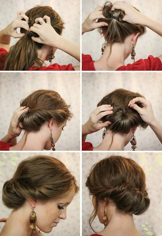 11 Easy Hairstyles Step By Step Hairstyles For All Occasions Hair Tutorial Gibson Girl Hair Hair Styles