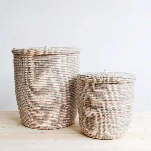 Hampers Woven Laundry Basket African Storage Baskets Woven