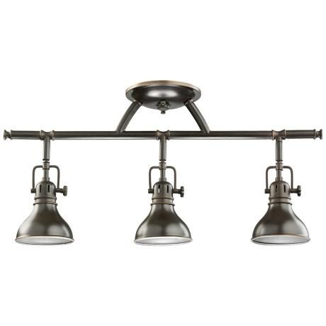 Kichler Olde Bronze Halogen Swivel Ceiling Fixture Style - Kitchen halogen ceiling lights