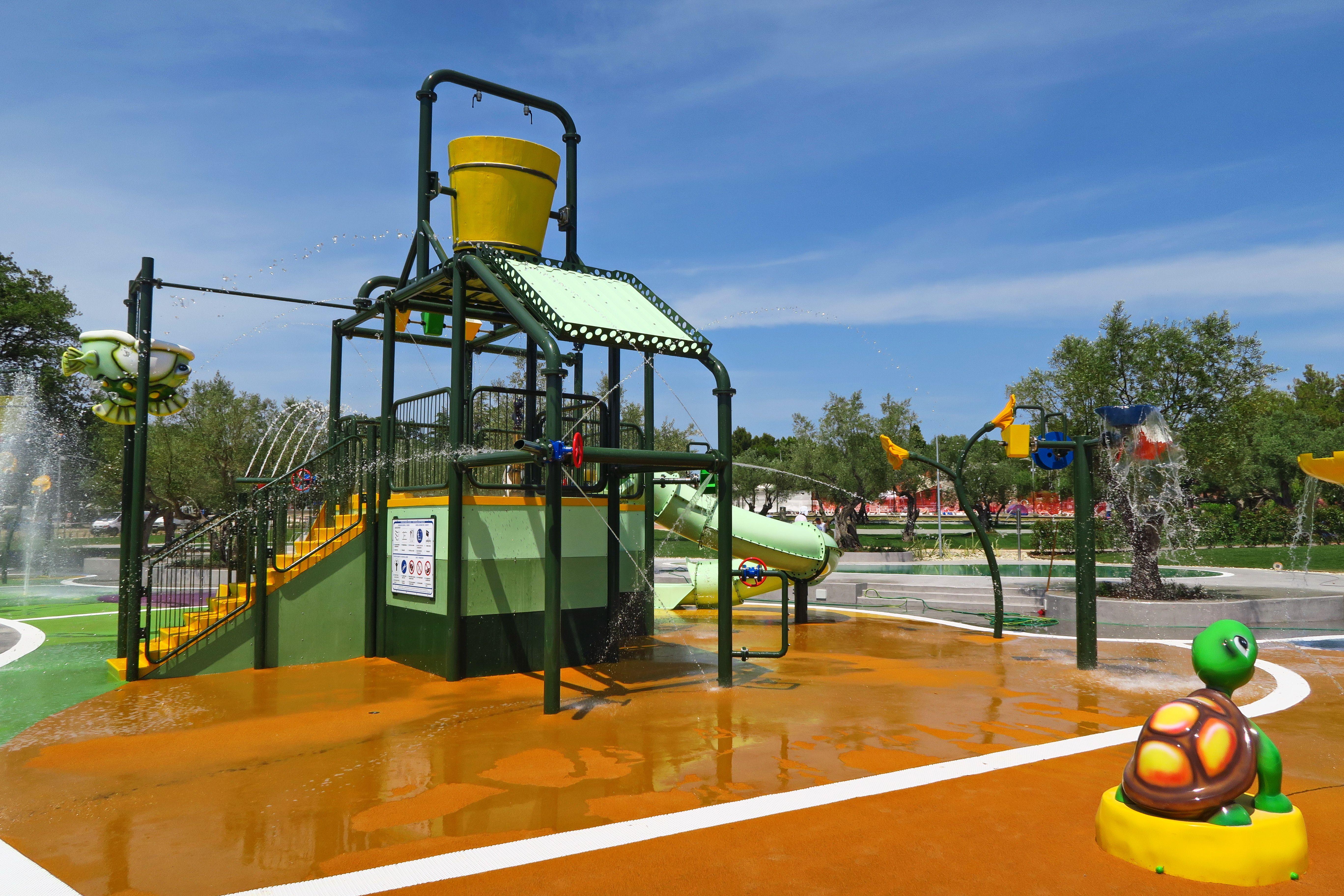 New Splash Park in Camping Polari