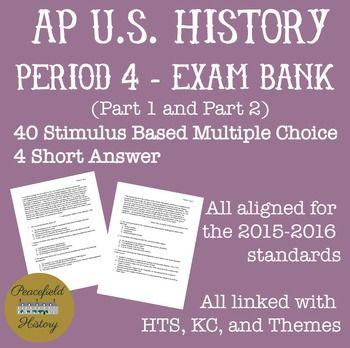 Apush Themes Period 1