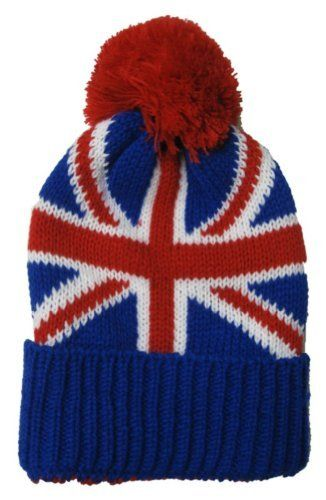 b36ec065631 Union Jack Kids Child Beanie Hat Winter Cap Red White Blue British     See  this great product.