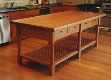 Ian Ingersoll Cabinetmakers | Kitchen prep table, Kitchens and ...