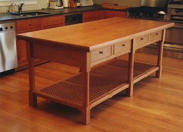 kitchen prep table remodeling ian ingersoll cabinetmakers 4611 1 2 island shaker inspired