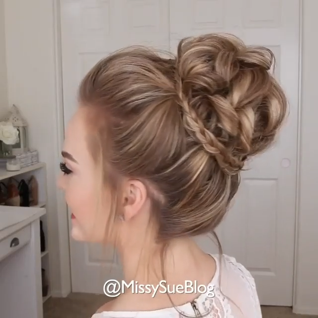 The Perfect Messy Bun #messyupdos