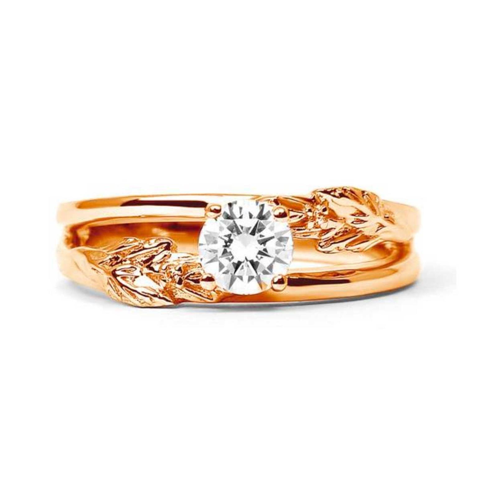 Royal Oak Engagement Ring