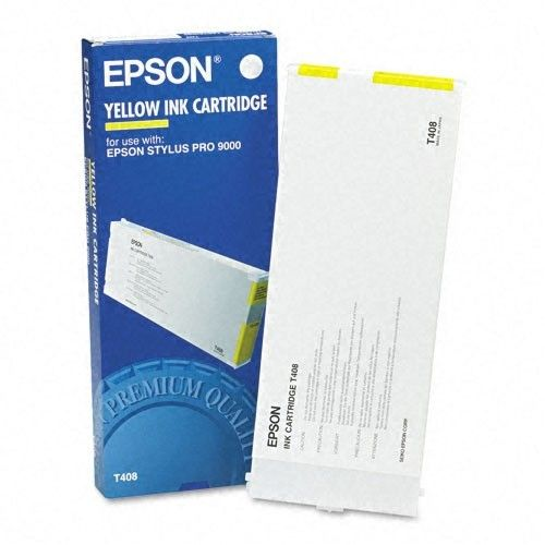 T408011 OEM Ink Cartridge, 200 Page Yield, Yellow