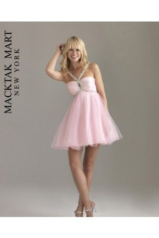 53b67a139e3 Night Moves by Allure 6407 light pink short dress for prom  sweet 16 ...