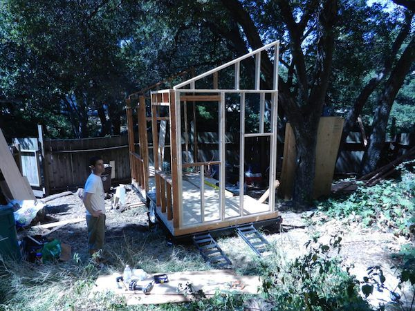 Matt Wolpe Tiny House Framing Diy Tiny House On A Trailer For