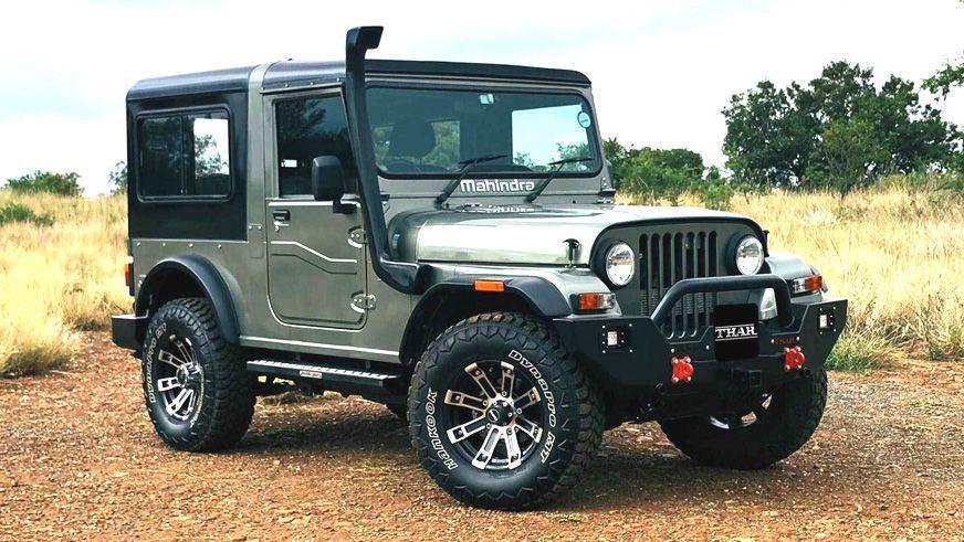 Mahindra Thar Adventure Series Revealed In 2020 Mahindra Thar Mahindra Thar Jeep Willys Jeep