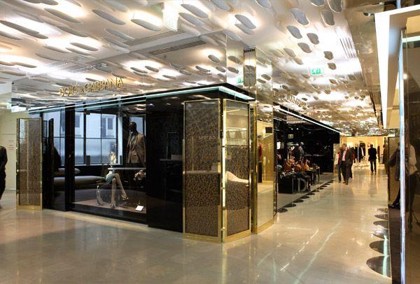 Dolce & Gabbana at Galeries Lafayette, Paris.