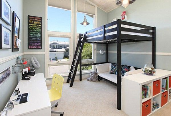 Pin By Home Decor On Childrens Room Bunk Beds Pinterest