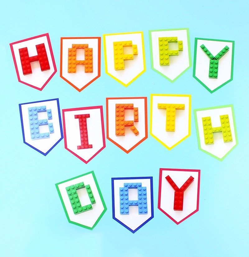 free printable lego birthday banner birthday celebrations in 2018