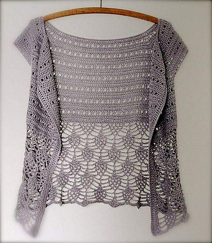 Crochet Cocoon Shrug Pattern Ideas | Weste, Häkeln und Handarbeiten