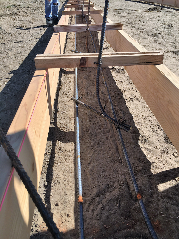 How To Lay Rebar For Concrete How To Build Your Own House Rebar Basement Construction Build Your Own House