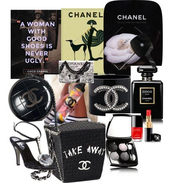 The Essentials of a Woman Chanel by kreatingeventsandmore on Polyvore featuring polyvore fashion style Chanel Thames & Hudson
