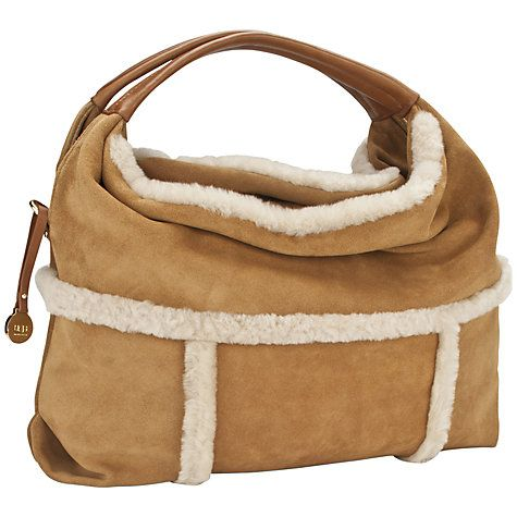 61943c6e585 UGG Quinn Sheepskin Suede Hobo Handbag | Wonderful Nails | Uggs, Ugg ...