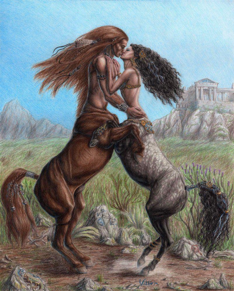 centaur   Centaur Couple by VictoriaVerebelyi on ...