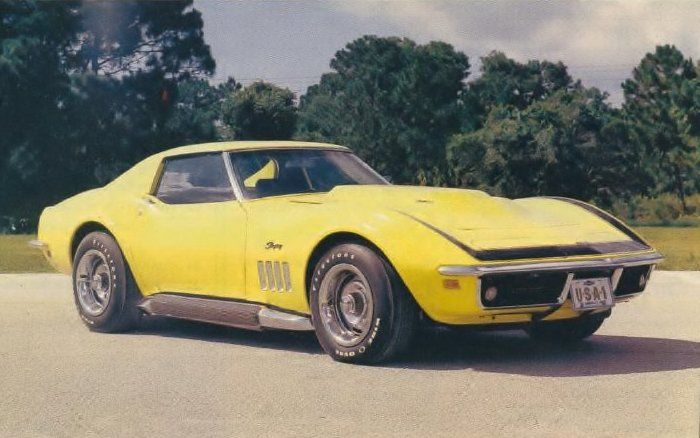 top 10 rarest american muscle cars 1969 chevrolet corvette zl 1 3 produced muscle cars and. Black Bedroom Furniture Sets. Home Design Ideas