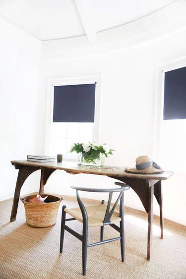 HOUSE TOUR A Designer's NoColor Hamptons Home Minimalist House Interesting House Beautiful Dining Rooms Minimalist
