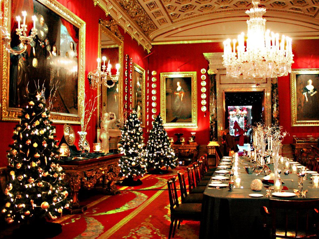 Chatsworth christmas pudding picture