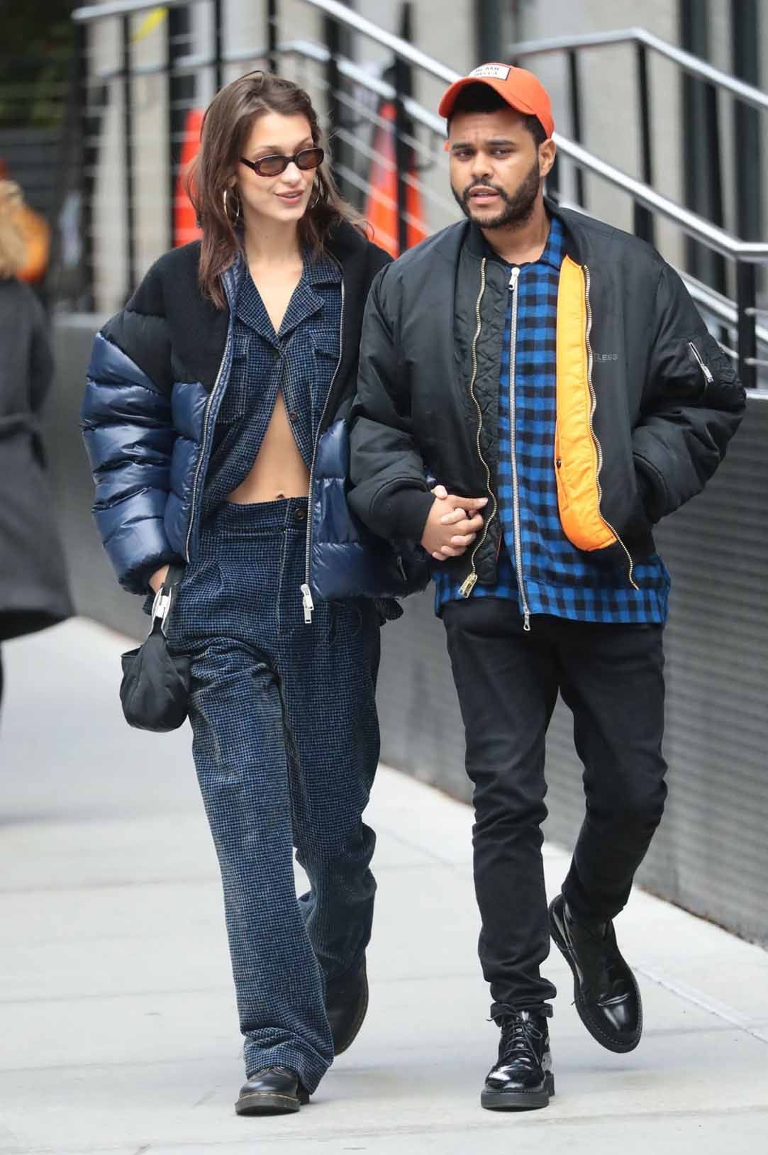 45bd4ddade Bella Hadid and The Weeknd in New York City 30-10-2018   CELEBRITIES ...