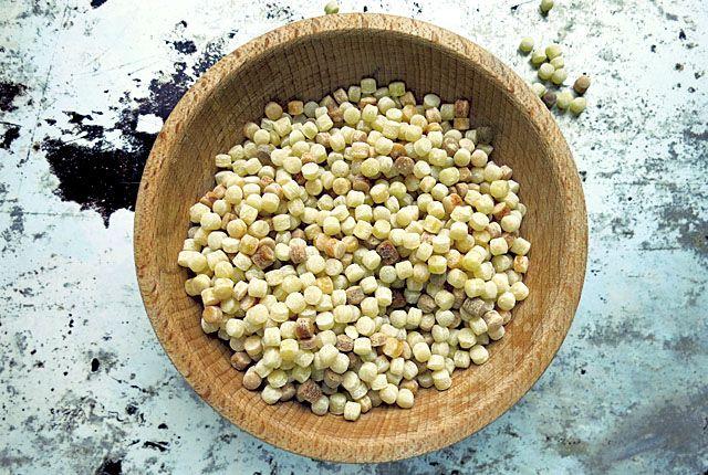 Fregola Sarda- Rezept mit Artischocken aus Sardinien (vegetarisch)