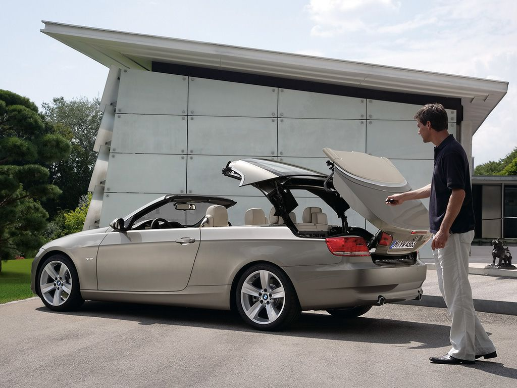 Bmw Serie 3 Convertible Hard Top 2007 With Images Bmw